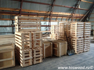 Ящик деревянный 1200x600x200мм
